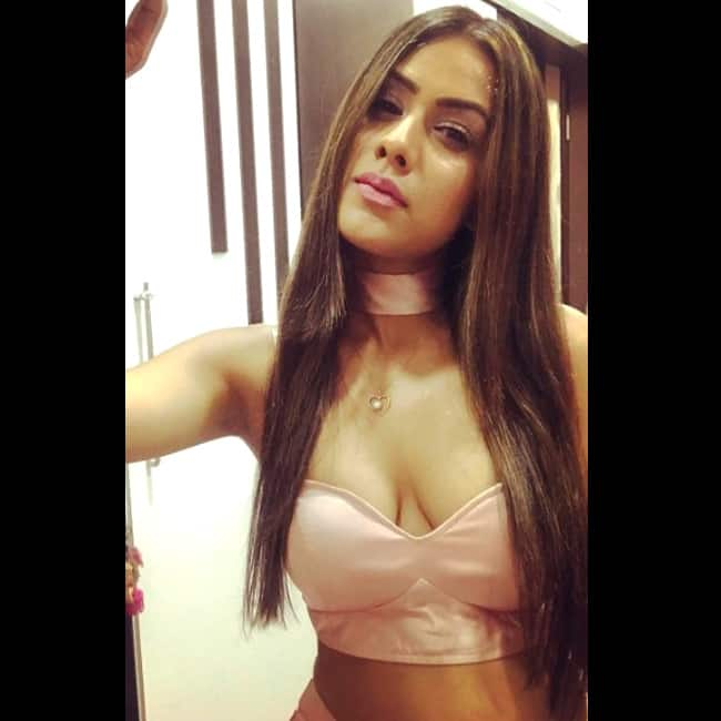 Nia Sharma looks super sexy in this picture