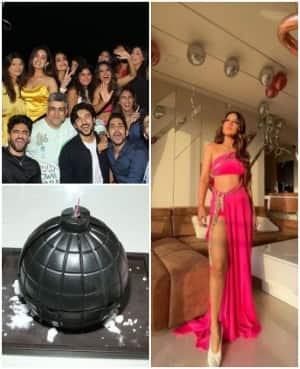Inside Nia Sharma's Birthday Bash With Zeeshan Khan, Rrahul Sudhir and Others, Don't Miss Bomb Cake | See Pics