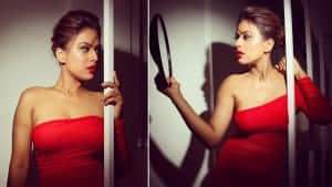 Nia Sharma Sets Internet on Fire in Her Sizzling Red Dress - See Viral Pics