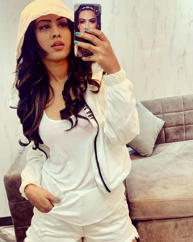Nia Sharma Takes Time to Decide Outfit of The Day
