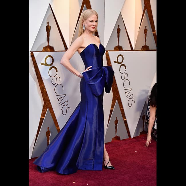 Nicole Kidman at red carpet of 90th Academy Awards