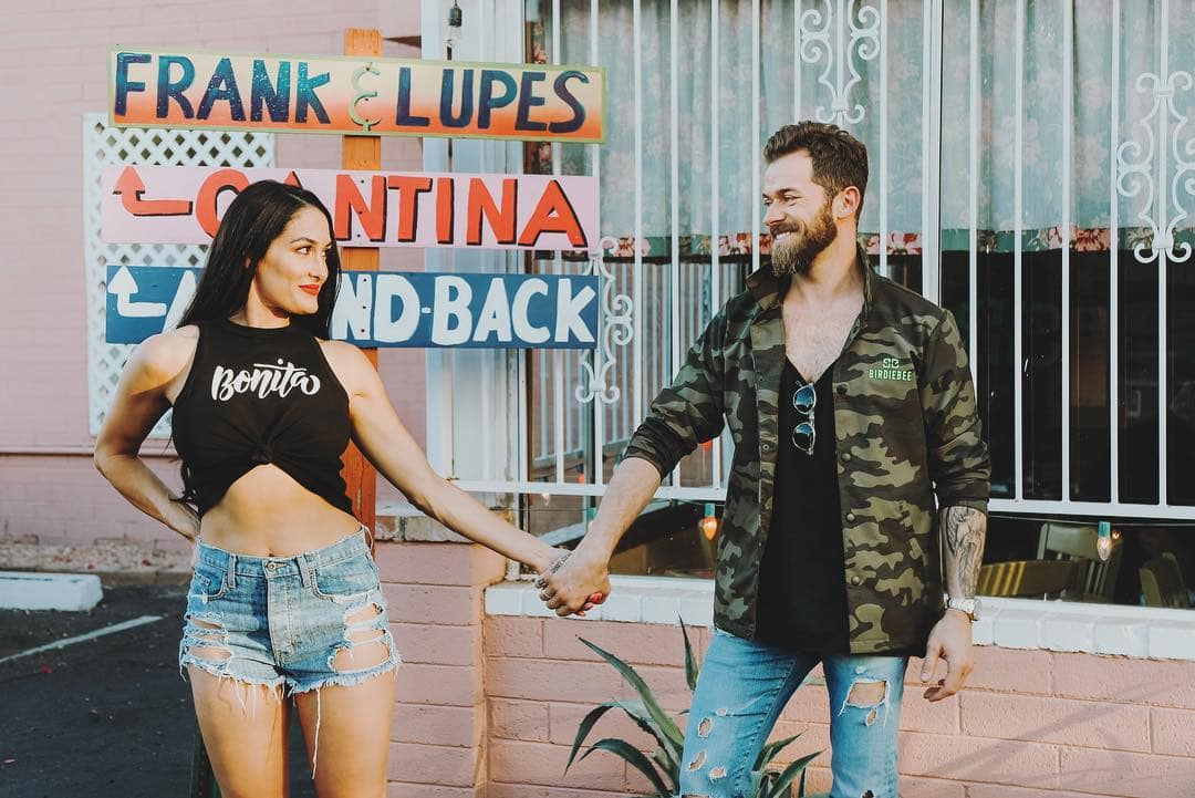 Nikki Bella with Fianc   Artem