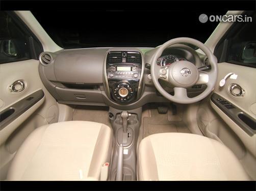Nissan Micra facelift Interior