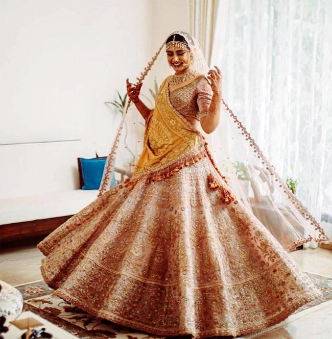 Niti Taylor Looks Mesmerising in Bridal Photoshoot