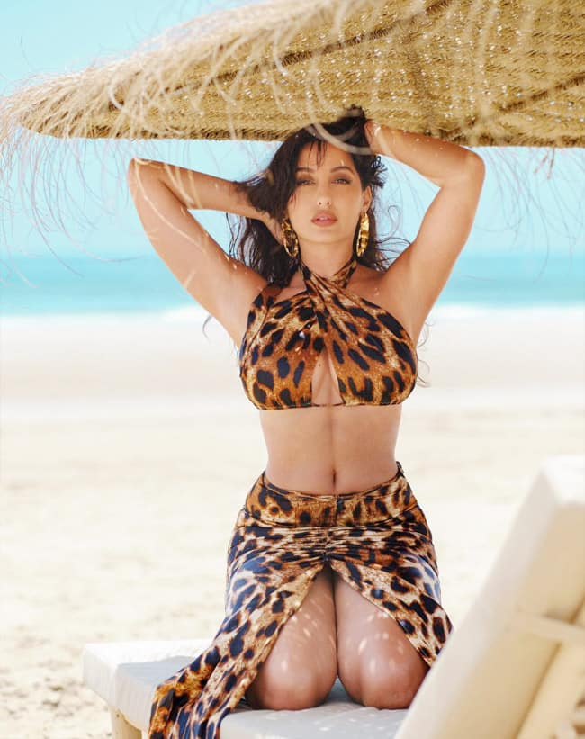 Nora Fatehi looks too hot to handle in viral photos