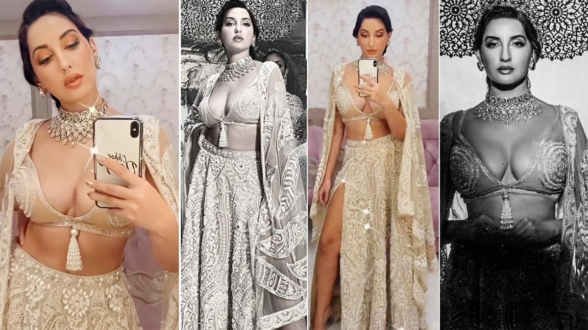 Nora Fatehi turns into a hot queen for Abu Jani Sandeep Khosla