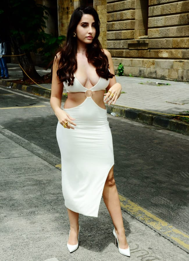 Nora Fatehi Was Spotted in Mumbai Looking Her Gorgeous Best