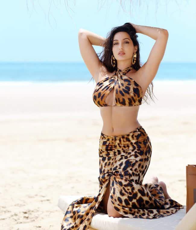 Nora Fatehi wears the most affordable sexy dress ever