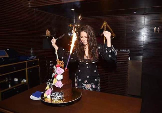 Nushrat Bharucha Celebrates Her Birthday With Near And Dear Ones From the Industry