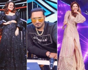 PHOTOS: Nushrat Bharucha-Honey Singh Release New Song 'Saiyaan Ji' on The Sets of Indian Idol 12 With Neha Kakkar