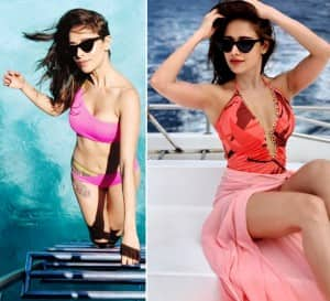 Nushrat Bharucha Sets Temperature Soaring With Her Hot And Sexy Bikini Pictures From Maldives