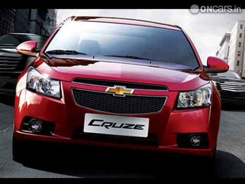 OnCars India Chevrolet Cruze
