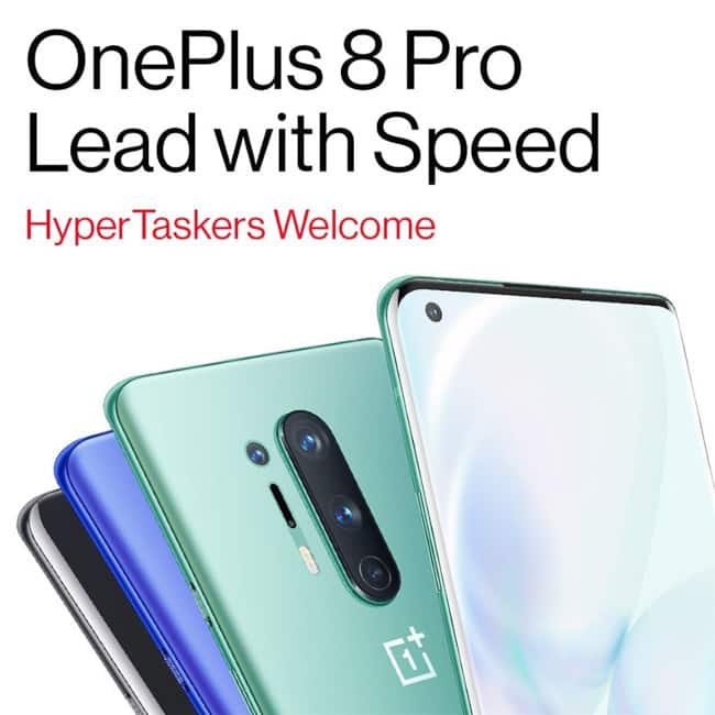OnePlus 8 series launched on April 14  2020