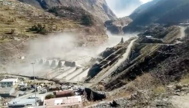 Over 150 labourers working at a power project in Tapovan Reni are feared dead