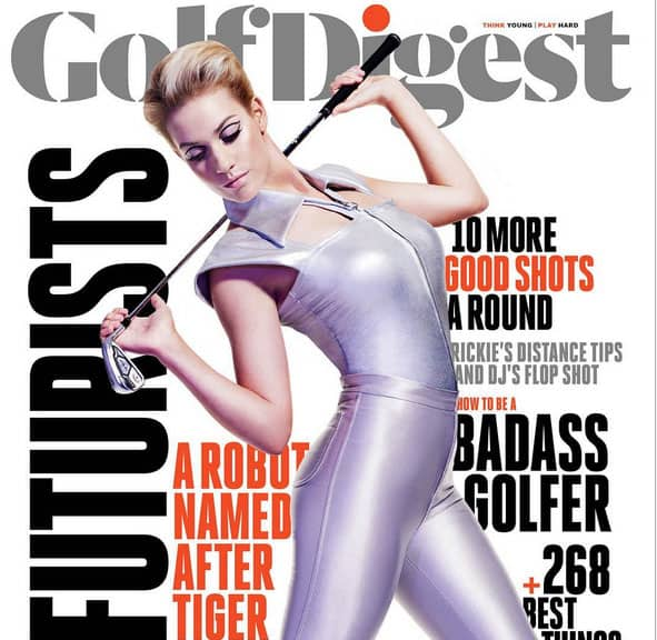 Paige Spiranac on Cover of Golf Digest