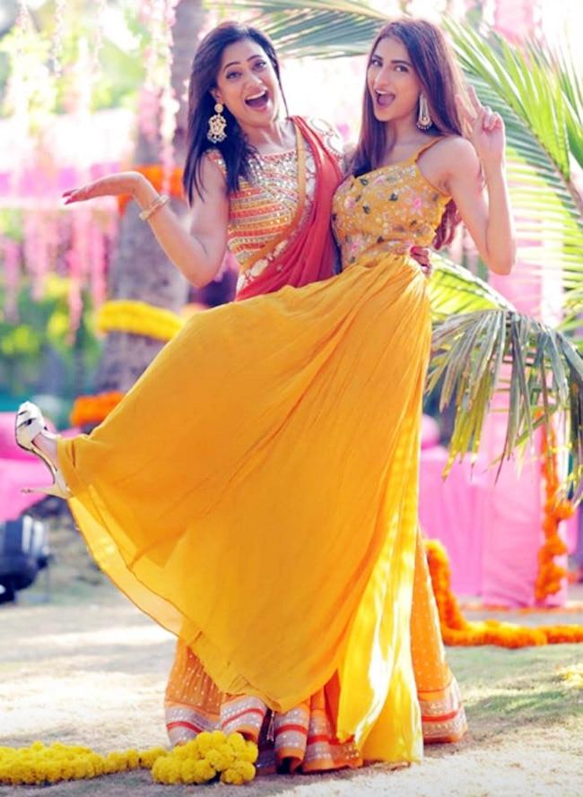 Pala Tiwari s stunning dress at a family function