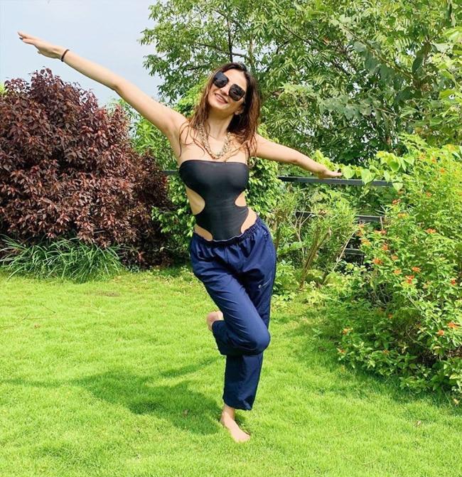 Palak Tiwari posts stunning photos from a resort