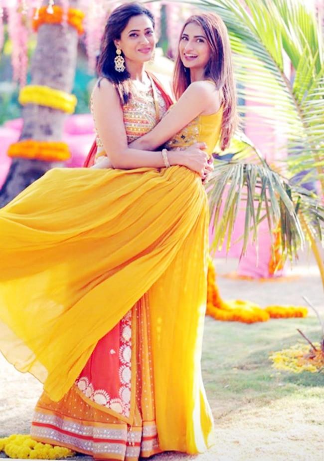 Palak Tiwari wears bright yellow separates