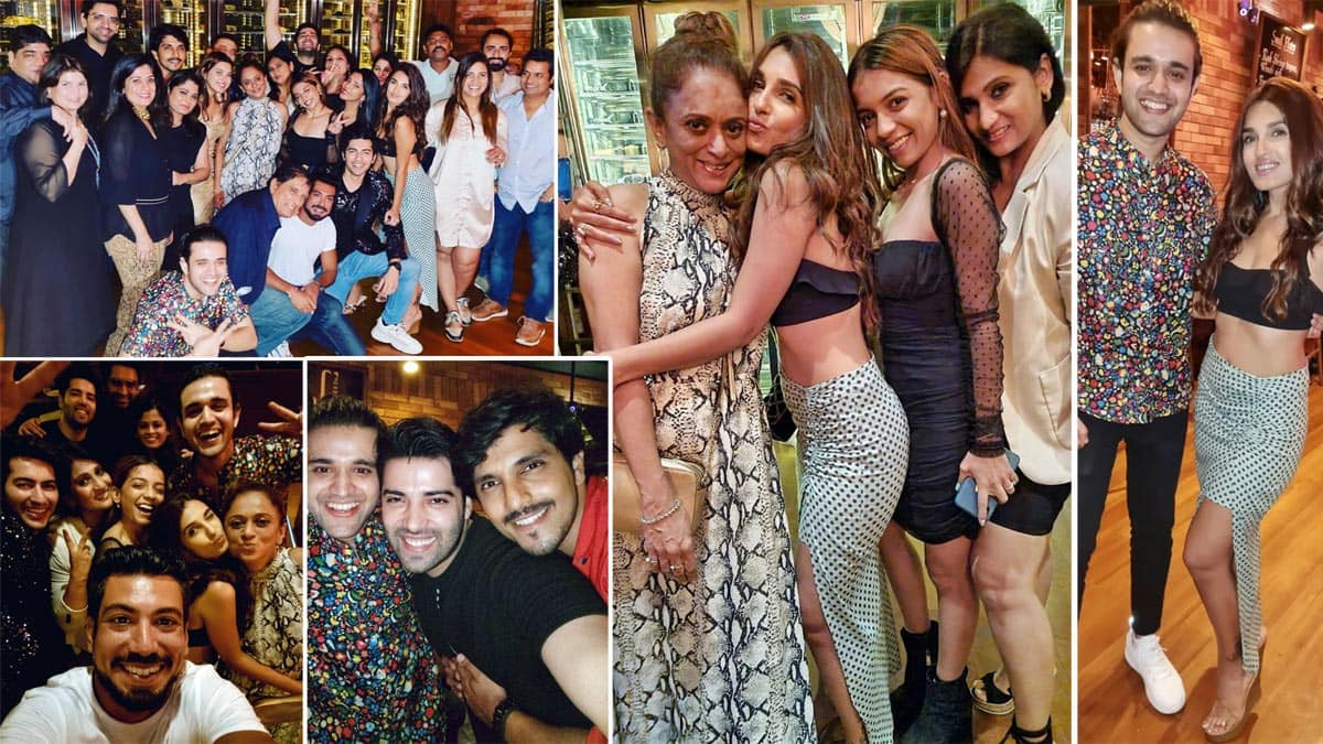Pandya Store Completes 200 Episodes  Shiny Doshi And Team Party Hard