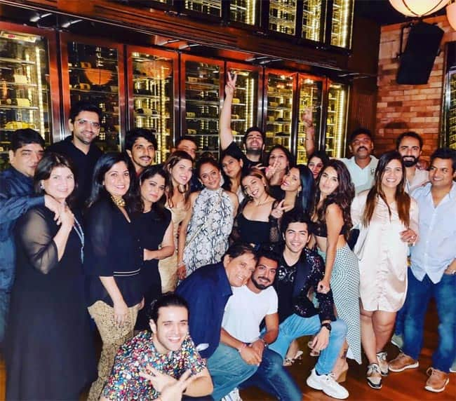 Pandya Store Team Poses For Big Group Picture