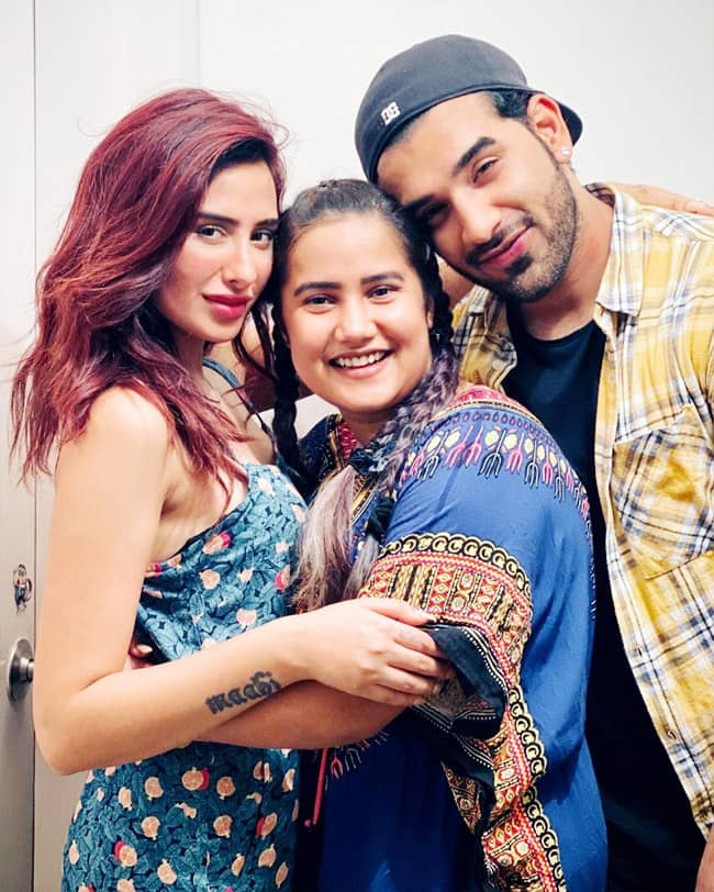 Paras Chhabra And Mahira Sharma With Another Friend