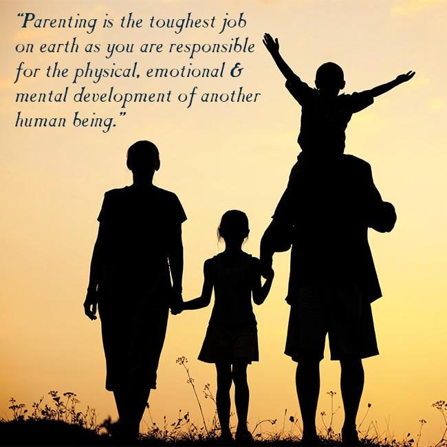 Parents Efforts Put For Children S Upbringing Global Parents Day