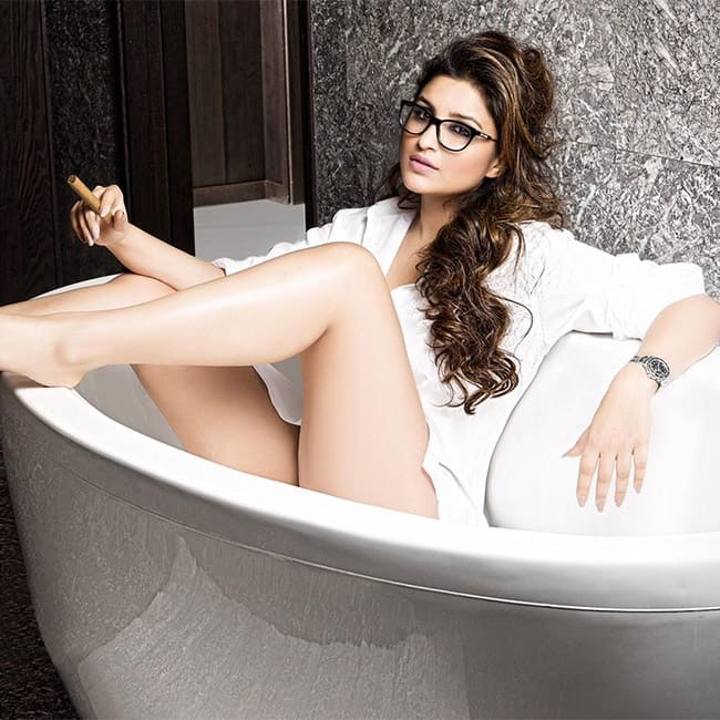Parineeti Chopra flaunting her sexy during super hot shoot