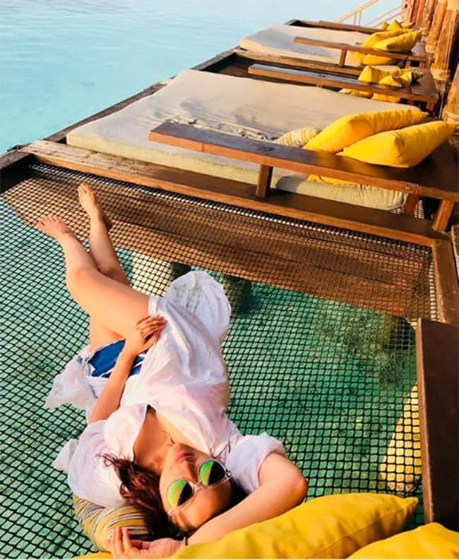 Parineeti Chopra sets major travel goals with hot pictures in the Maldives