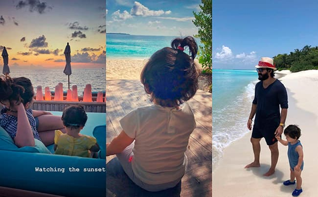 Pataudi family s Maldives vacation