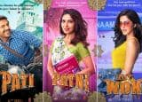Pati, Patni Aur Woh Makers Introduce Character Posters, Kartik Aaryan Confused Between Ananya Pandey as Woh And Bhumi Pednekar as Patni