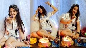 Patiala Babes Fame Ashnoor Kaur Turns 'Sassy17', Shares Pics From Her Midnight Birthday Celebration