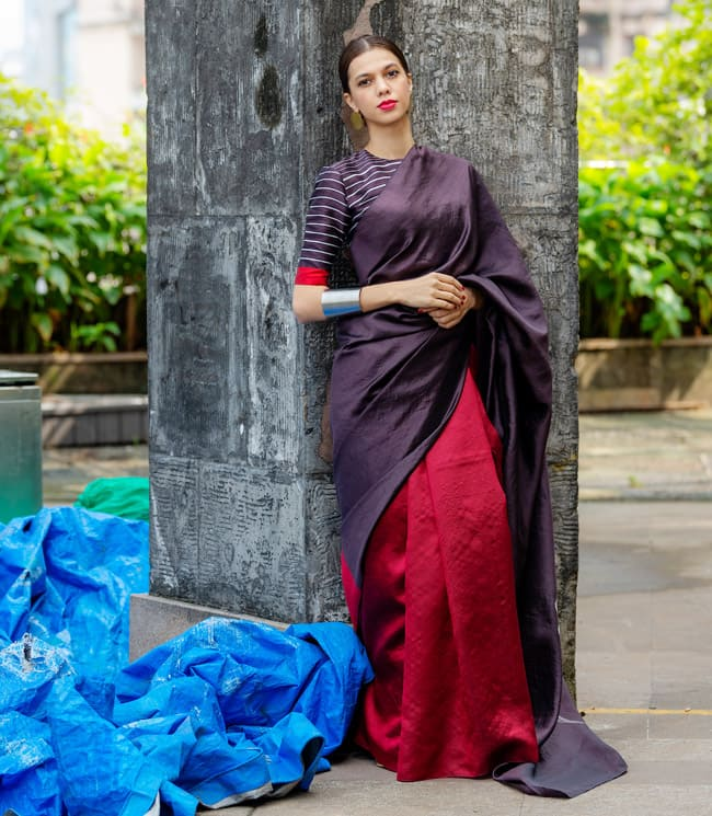 Payal Khandwala brings only 10 sarees to the Lakme Fashion Week 2020 showcase