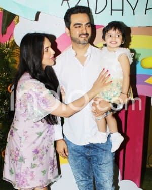 Photos: Star Kids Taimur, Inaaya, Laksshya Arrive at Esha Deol's Daughter Radhya's Birthday Party