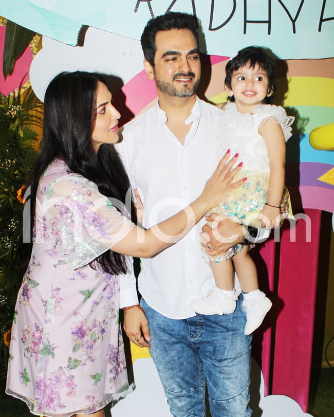 Perfect Family Picture at Radhya s Birthday Party