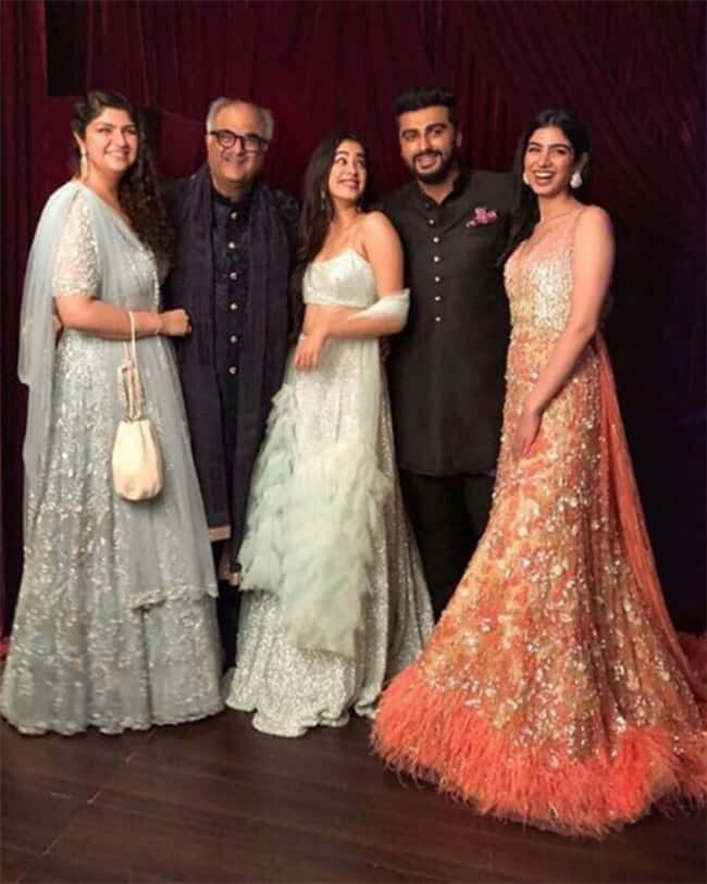 Perfect picture of Boney Kapoor   s family