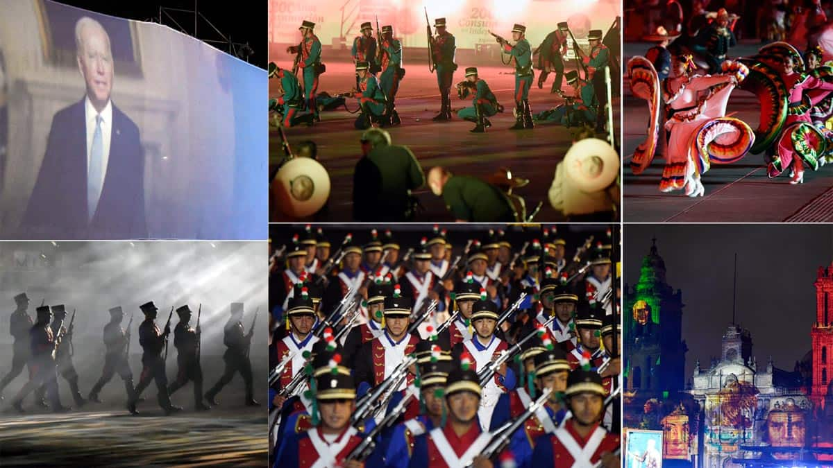 Photos  Mexico celebrates 200 years of independence