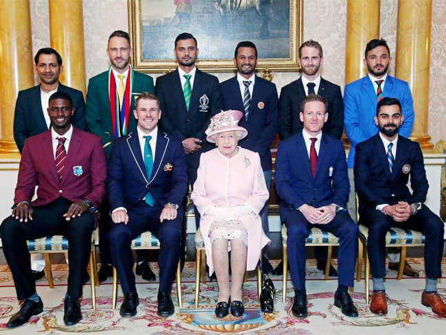 ICC World Cup 2019: Captains Meet Queen Elizabeth II Before The Commencement of Tournament