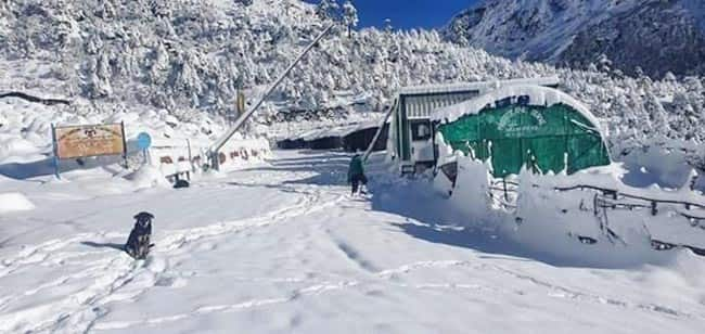 Places in Sikkim witness snowfall every year