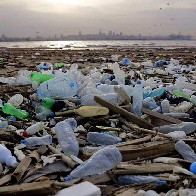Plastic is made of non renewable sources