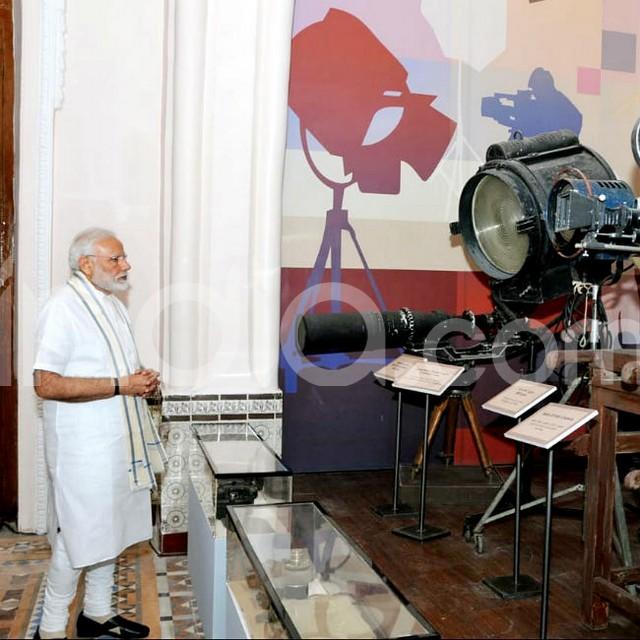 PM Narendra Modi inaugurated the National Museum of Indian Cinema  NMIC