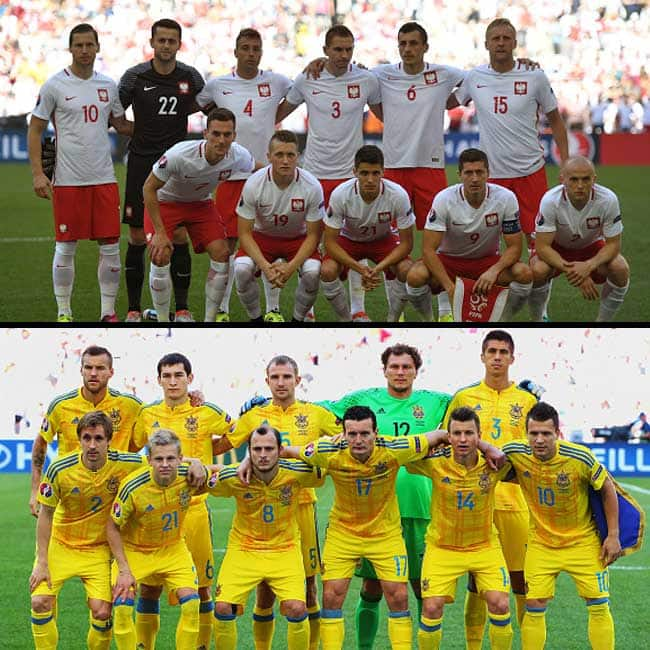 Poland achieved 1 0 victory against Ukraine in UEFA EURO 2016 Group C match