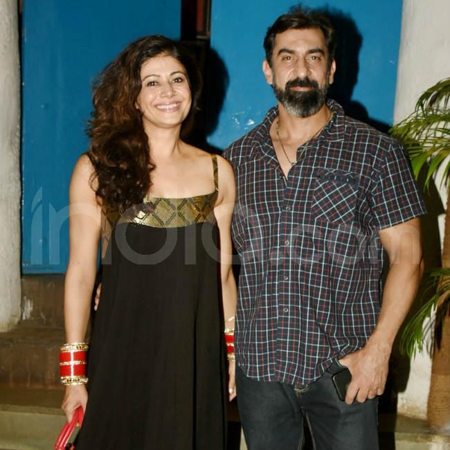 Pooja and Nawab clicked