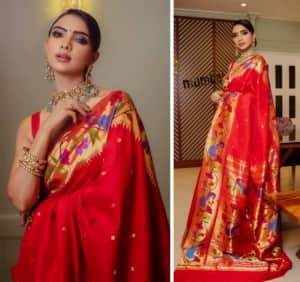 Pooja Banerjee is Royalty Personified in Her Orange Saree For New Photoshoot - Yay or Nay?