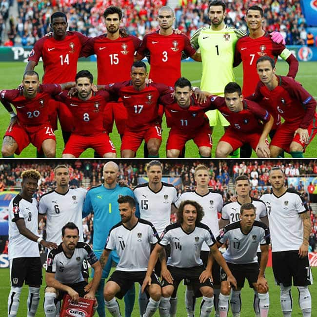 Portugal vs Austria ended in a scoreless draw in UEFA EURO Group F match
