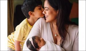 PHOTOS   Sameera Reddy Birthday: Diva Sets Goals From Breastfeeding Tips to Climbing Hills With Her Newborn