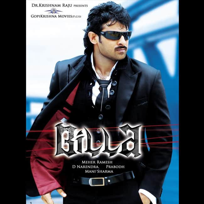 Prabhas on the poster of Billa  2009
