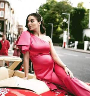 Pregnant Amy Jackson Shares Pictures From Europe Car Rally