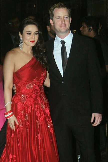 Bollywood Celebs Attend Preity Zinta Wedding Reception In Mumbai
