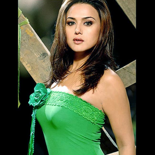 Preity Zinta Poses Sultry In A Bold Shoot Preity Zinta Hot And