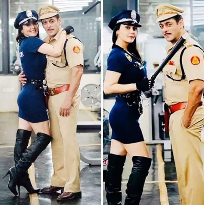 Preity Zinta  The New And Stylish Cop in Dabangg 3